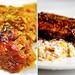 mardi gras collage meat