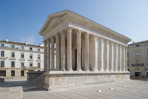 Maison carr e n mes flickr photo sharing - Maison carree nimes ...