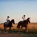 'Off to School', Argentina, Chascomus, Gauchos
