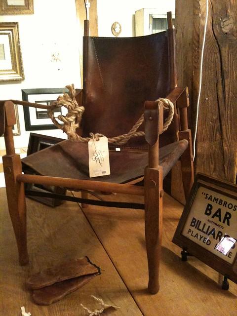 Kaare Klint Safari Chair Meets Ralph Lauren Flickr