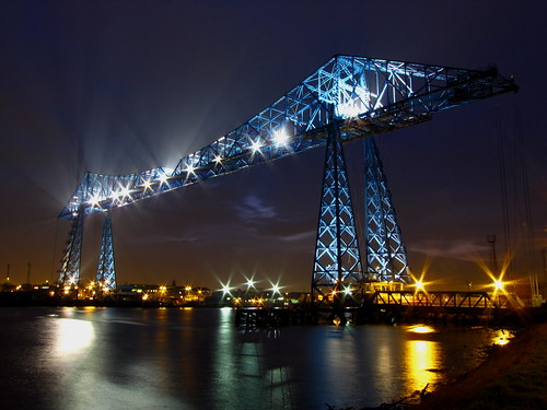 The Tees Transporter Bridge. | by paul downing
