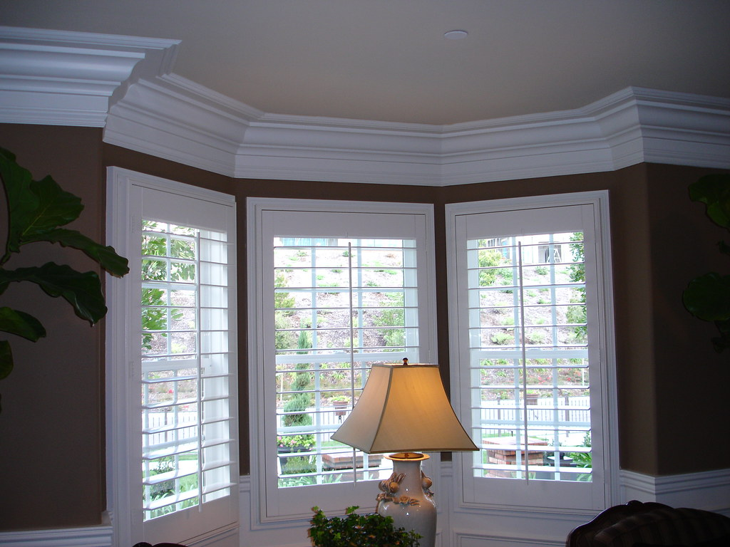 Crown Molding By Bay Window This Is My Inspiration Set