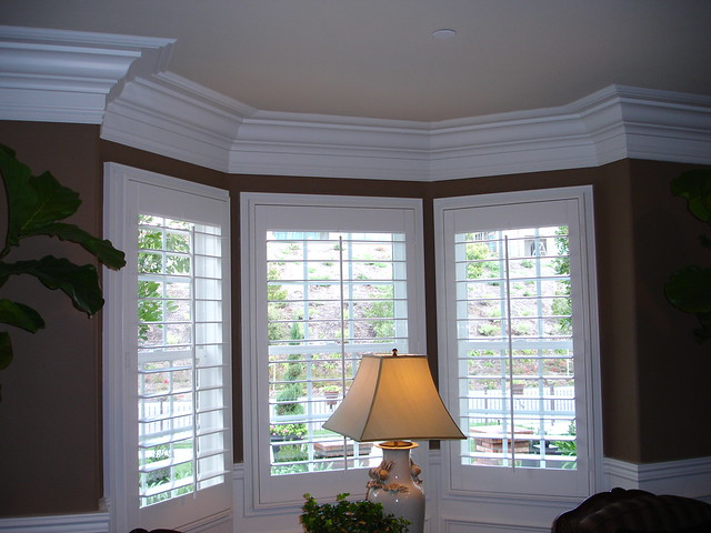 Crown Molding By Bay Window Flickr Photo Sharing