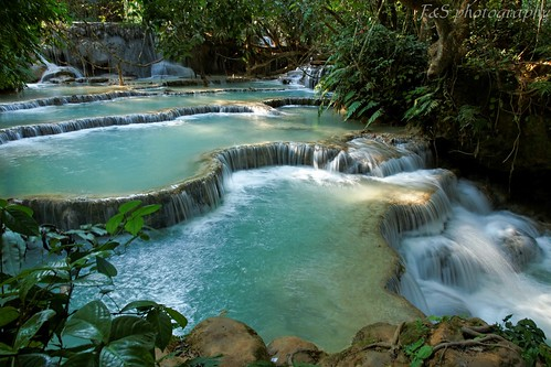 Kuangsi water falls | by Sophie et Fred