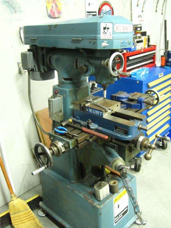 Small Vertical Mill Husky Small Vertical Mill