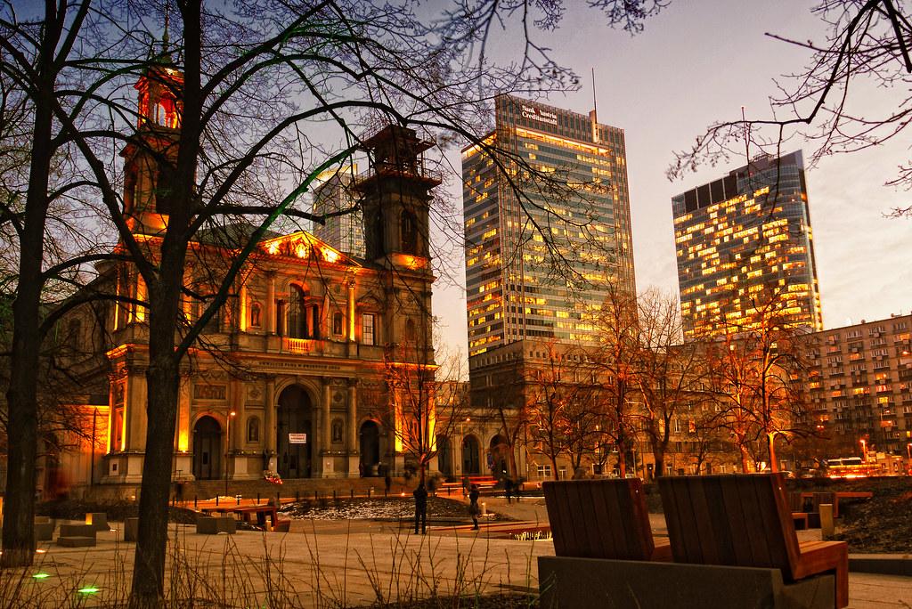 Plaza Grzybowski, Varsovia (Adam Smok / Flickr)