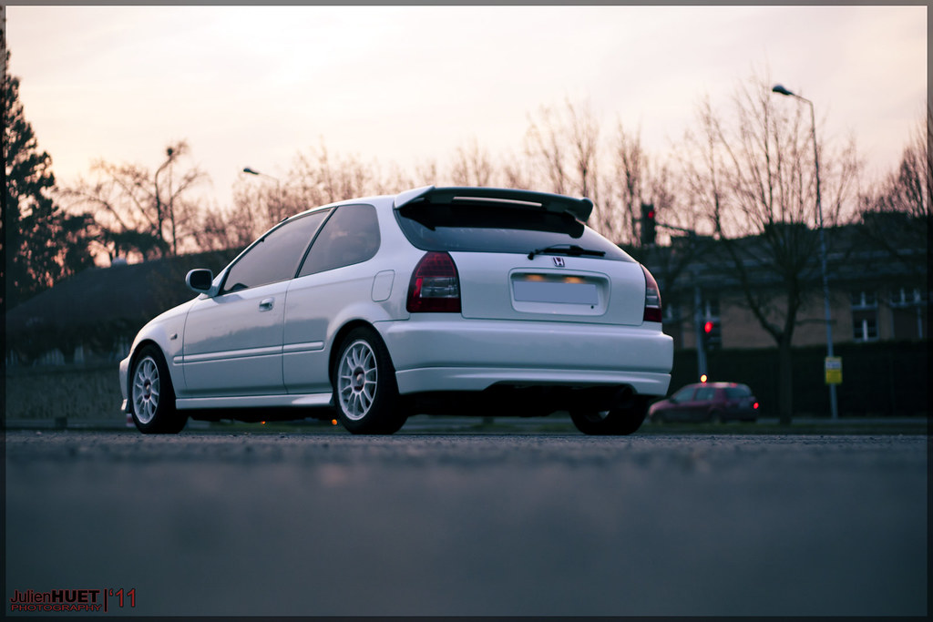 honda civic ej9 with ek9 look koni paris honda civic 1 4 flickr. Black Bedroom Furniture Sets. Home Design Ideas