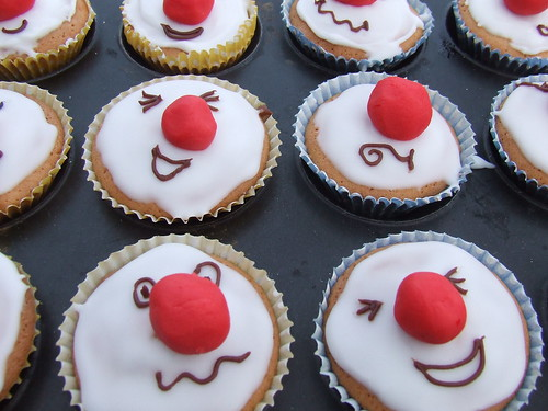 Red Nose cakes Flickr - Photo Sharing!