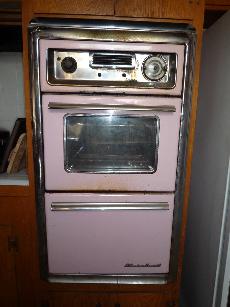 Pink 1958 O Keefe Amp Merritt Wall Oven Houseoftomorrow