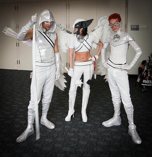 White Arrow, White Hawkgirl, White Lantern | Flickr ...