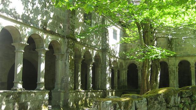 Monasterio de Santa Cristina de Ribas de Sil en Parada de Sil