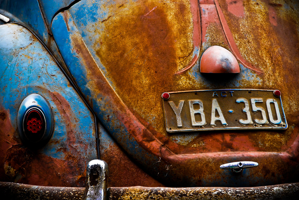 Rat look VW Beetle | nick ruebotham | Flickr