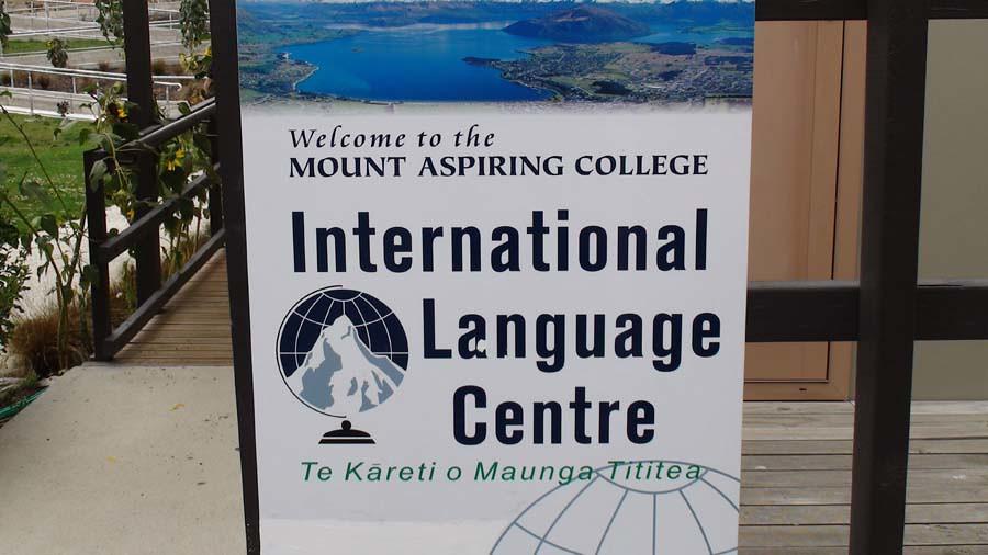 Mount Aspiring College International Language Centre