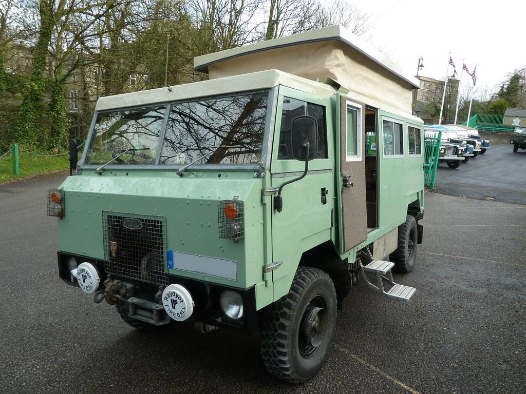 Land Rover 101 >> Land Rover 101 F/C Camper | Shows Elevating roof | homer----simpson | Flickr