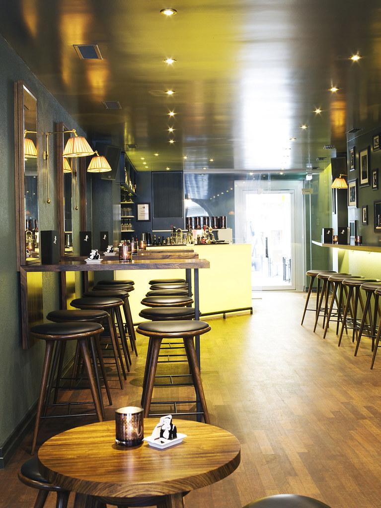 Restaurant bar design awards monkey fumoir