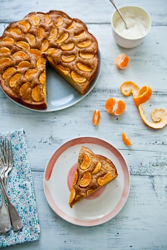 Buttermilk Cake With Pixie Tangerines | by tartelette