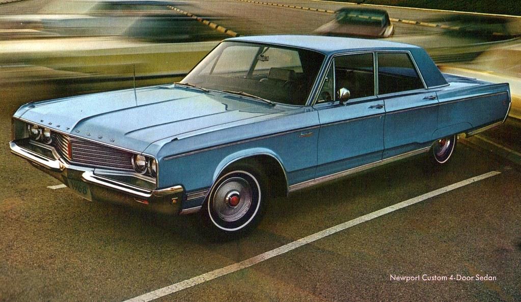 1968 chrysler newport custom 4 door sedan coconv flickr. Black Bedroom Furniture Sets. Home Design Ideas