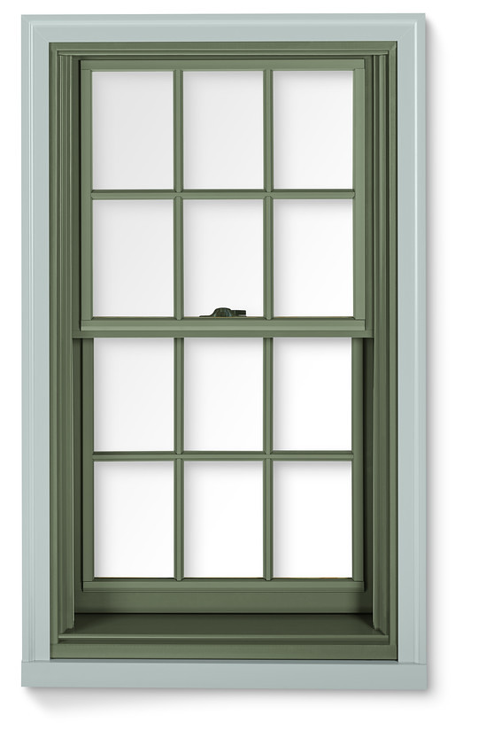 400 series double hung window with exterior trim 400 for Window and door visualiser