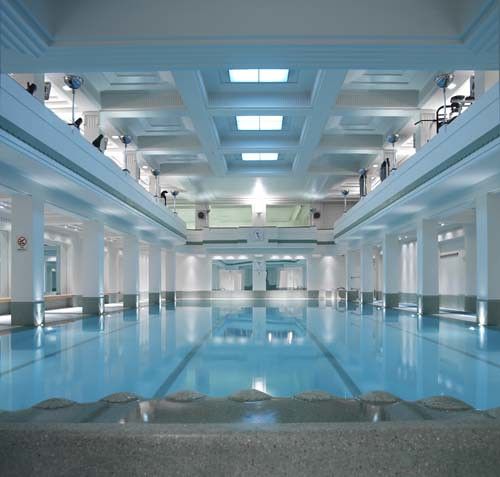 Art Deco Swimming Pool The Lansdowne Club Flickr