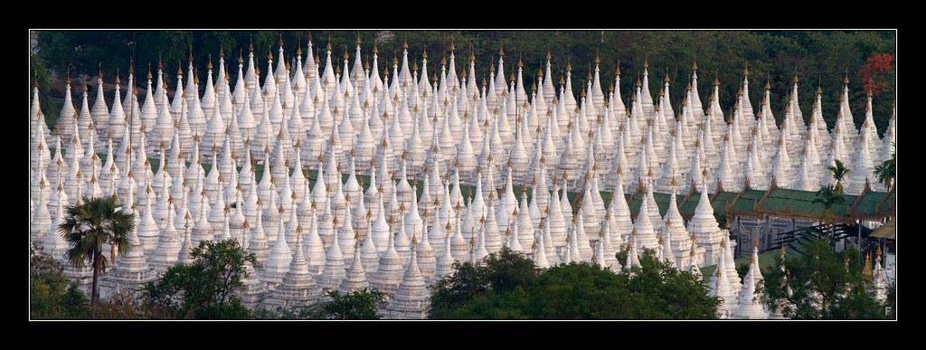 Sandamuni Pagoda Mandalay This Fabulous View Is From Half Flickr