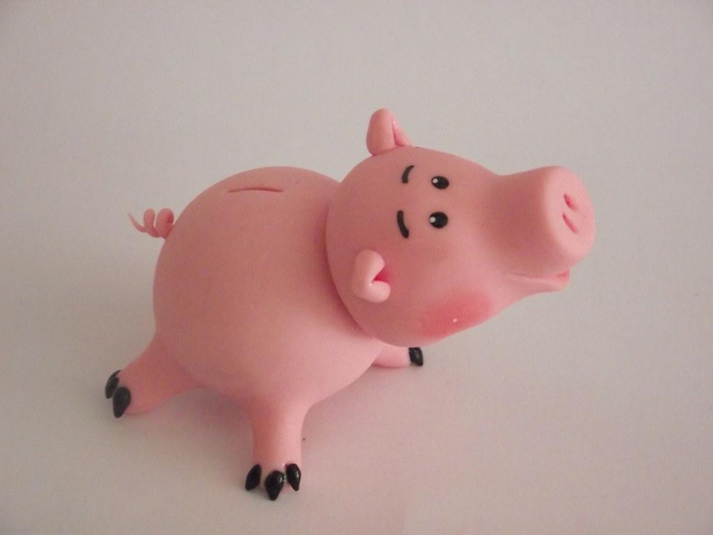 Porquinho Toy Story...   contatos e encomendas: michellebisc ...