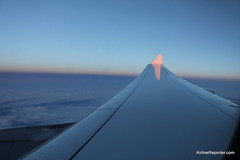 Lufthansa A330 Flight