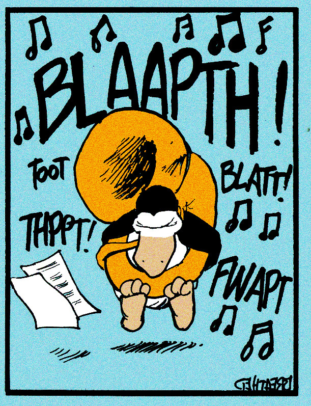 Blaaphth Opus Courtesy Of Berke Breathed Gives The