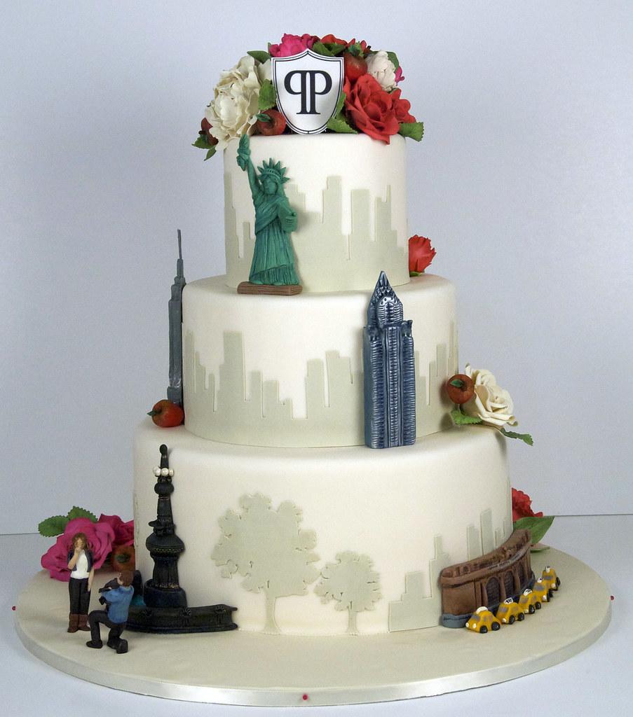 New York Wedding Cake Buildings