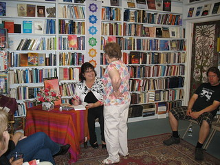 2011 - Margaret Ann Lembo signing Chakra Awareness | by ShiningLotusBooks