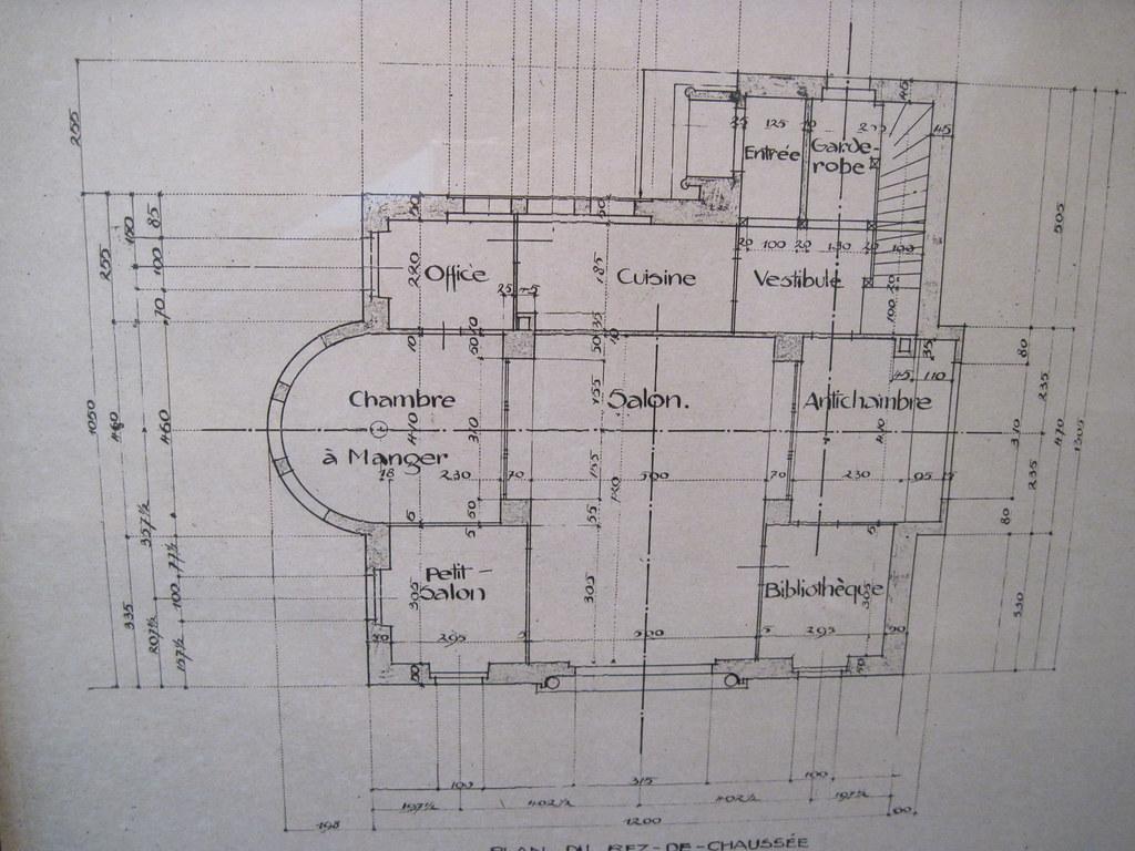 Le corbusier maison blanche floor plan grand floor for Le plan d une maison