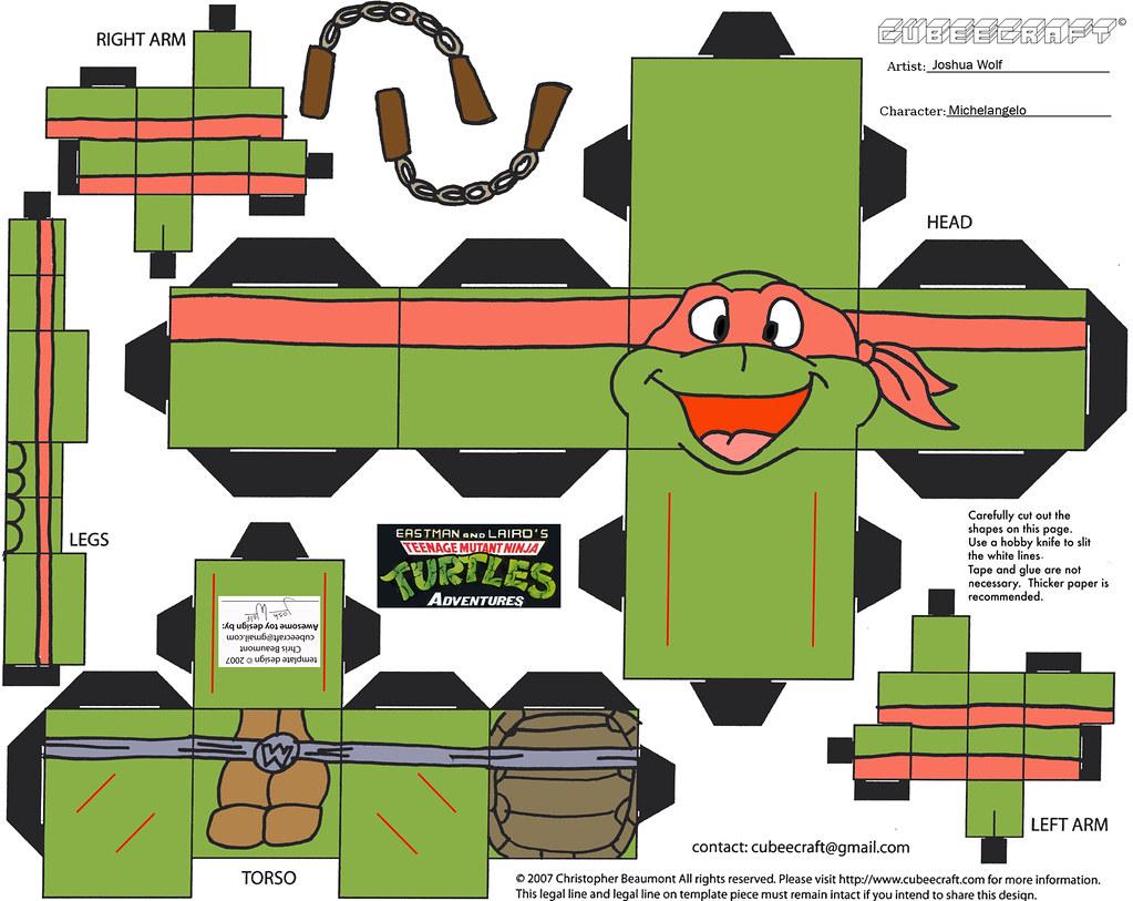 """Teenage Mutant Ninja Turtles Adventures"" - Michelangelo p. Flickr"