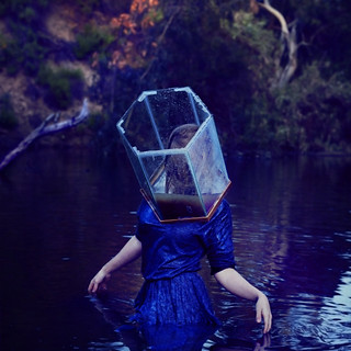 emerging from broken glass | by brookeshaden