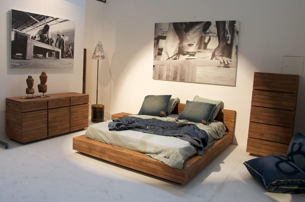 Chambre coucher vintage quatuor flickr for Photos chambre a coucher
