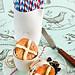 Hot Cross Bun Ice Cream Sandwiches