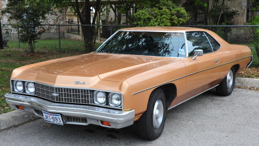 Chevrolet 1973 Bel Air 2dr Hardtop Original Condition
