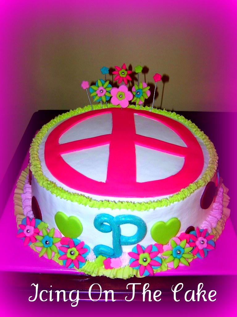 Peace Cake And Happiness