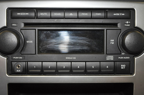 2007 Dodge Ram 1500 Has Easy To Use Radio Controls Whole