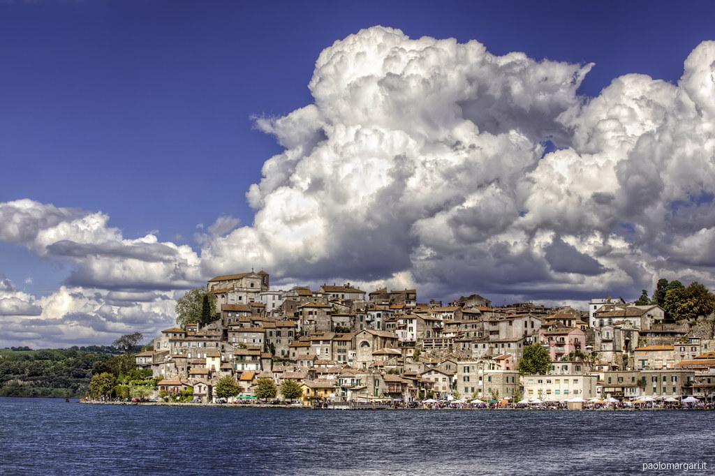 Bracciano Italy  City new picture : Anguillara Sabazia Lago di Bracciano Italy HDR | Flickr
