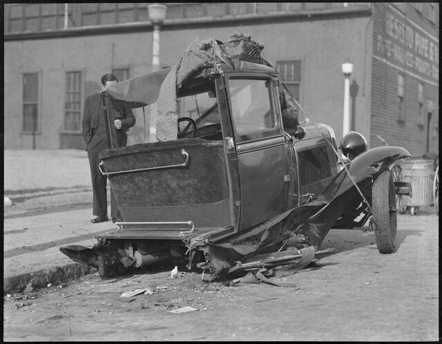 Car Crash Cambridge Today