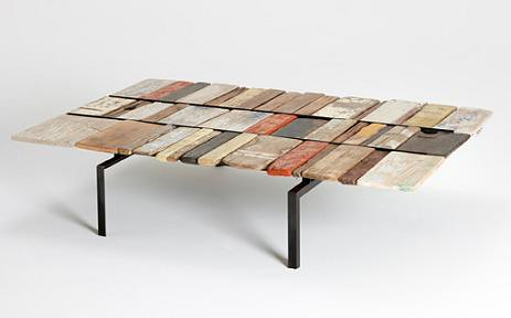 Colorful Driftwood Coffee Table St Kilda Cabinculture Flickr