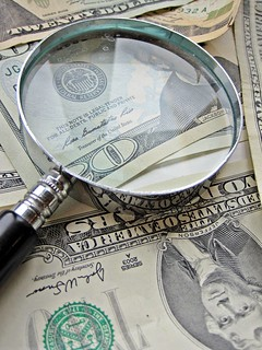 Magnify Glass and Money | by Images_of_Money