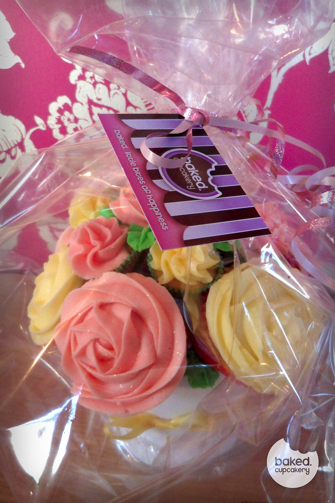 Packaged Cupcake Bouquet Wonderful For Gifts Weddings