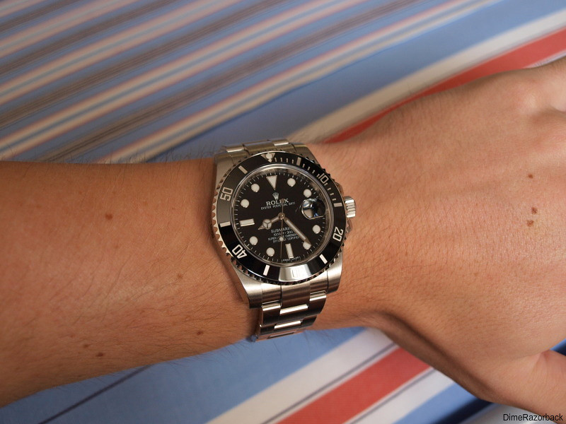 rolex submariner ceramic 116610ln my new rolex