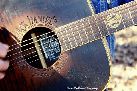 Jack Daniels Guitar Owned By Billy Don Burns This Guitar W Flickr