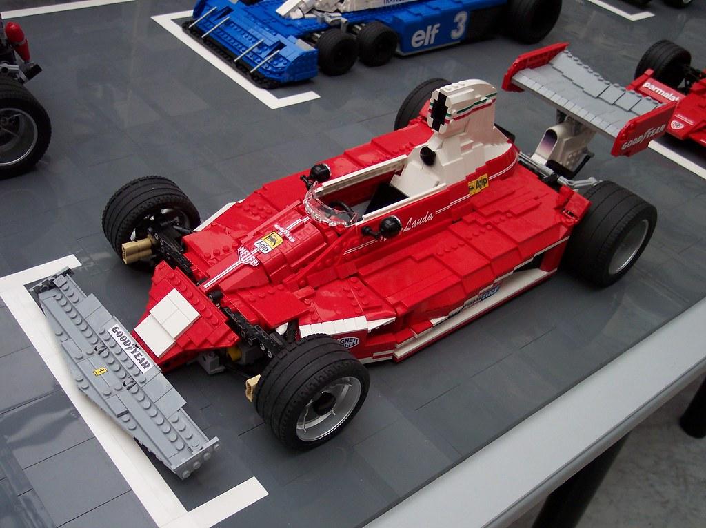 lego ferrari 312t 1975 formula 1 car designed by mauro. Black Bedroom Furniture Sets. Home Design Ideas