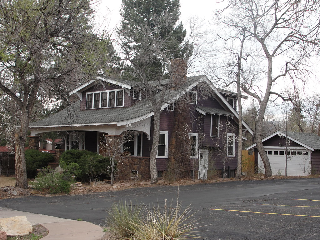 Craftsman bungalow colorado springs colorado bossco flickr - American home decor property ...