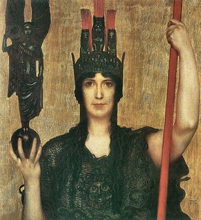 Pallas Athene by Franz von Stuck | by Mattia Moretti