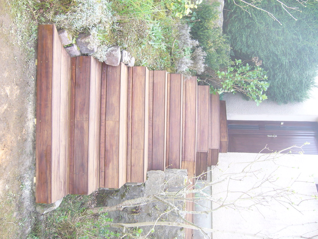 escalier en bambou carquefou bois escalier en bam flickr. Black Bedroom Furniture Sets. Home Design Ideas