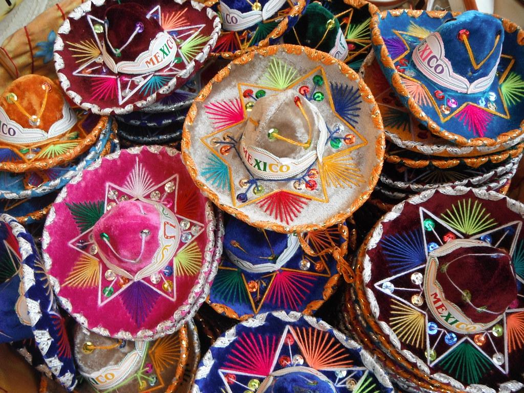 Pint Sized Sombreros   5th Avenue, Playa del Carmen ...