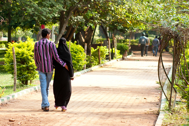 Couple Strolling In Cubbon Park In Bangalore Flickr Photo Sharing